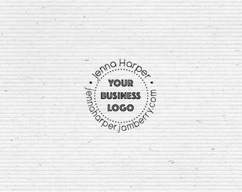 Personalized Independent Consultant Business Stamp BIZR001