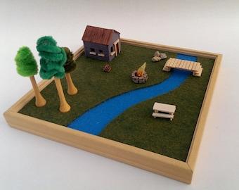 Miniature Bridge Etsy