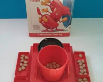 Totally Retro Vintage Game, Don't Spill The Beans, Milton Bradley Game, Vintage Game, Retro Game, Don't Spill The Beans Game.