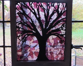 Hand made stained glass mosaic items for your by - Table mosaique rectangulaire ...
