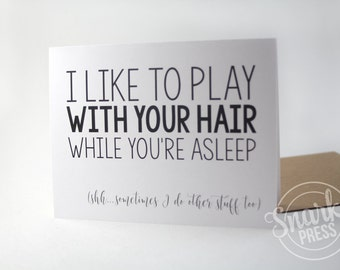 Funny Card - love card - anniversary card - funny love card - card for boyfriend - card for girlfriend - valentine card - sarcastic card