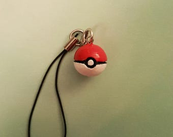 CLEARANCE Pokeball Charm