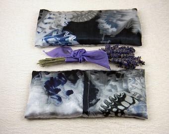 "Lavender ""Kristen"" Silk Eye Pillow"