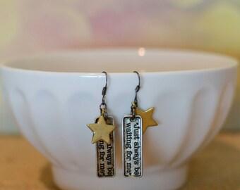 Peter Pan Earrings, Silver Earrings, Pan Earrings, Hook Jewelry, Peter Pan Jewelry