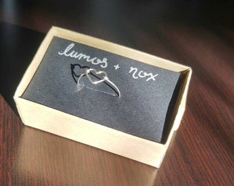 Sterling Silver Heart Wire Ring