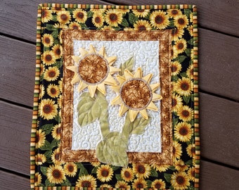 Sunflowers Little Quilt