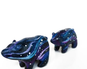 Galaxy Bear and Cub Totem Set - Ursa Major and Ursa Minor