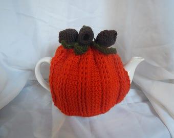 Gum Nut Tea Cosy 4 cup.  Tangerine