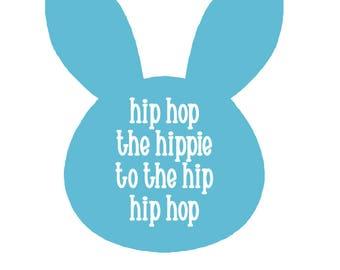 Easter SVG / Hip Hop Bunny