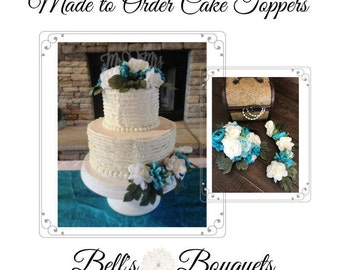 Made-to Order Wedding Cake Toppers