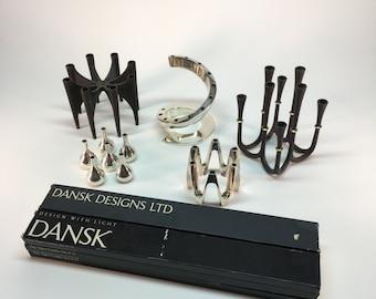 DANSK Danish tiny taper candles- 2 sets left!