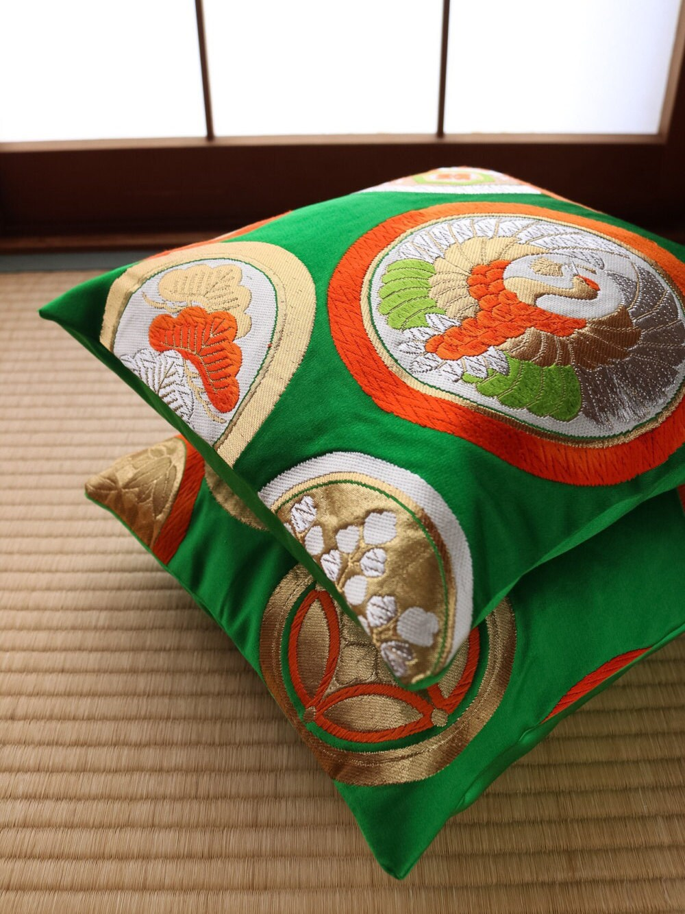 Oriental Throw Pillow Covers : Small Japanese Cushion Covers Japanese Pillows Throw Pillows Oriental Pillows Japanese ...
