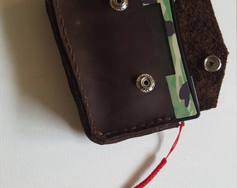4.5oz Chrome Tanned Leather Gameboy Micro Case