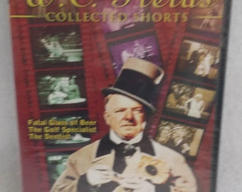 WC FIelds Collection of Shorts - Fatal Glass of Beer 1933 - The Golf Specialist 1930 - The Dentist 1932 - New in Plastic - DVD
