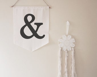Ampersand & Banner // gift // housewarming // for her // friend
