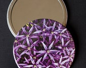 Purple Allium Pocket Mirr...