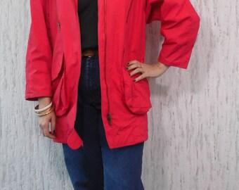 Vintage Parka Light Jacket Coat