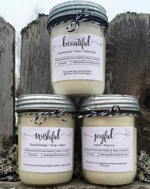 Simply Thoughtful Homemade Soy Candles