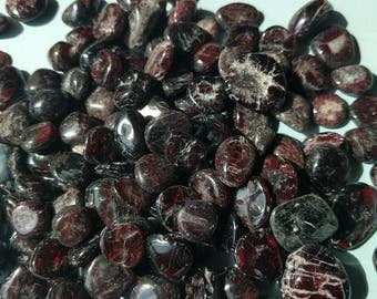 Garnet Tumbled Garnet Gemstone (Bulk, Cheap)