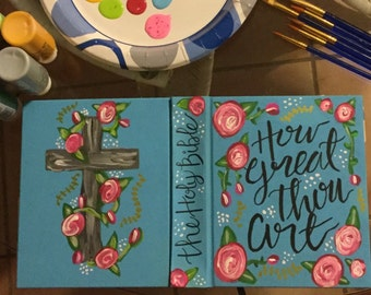 Journaling Bible - How Great Thou Art