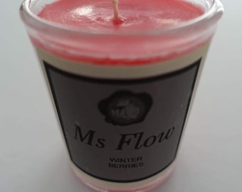 Ms Flow Winter Berries Candle