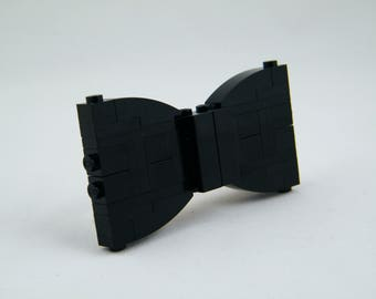 Black Bow Tie (Kids) - Custom LEGO Kit