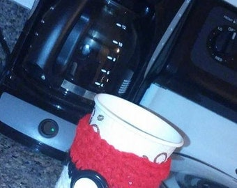 Pokeball Coffee Cup Cozy