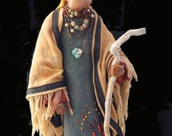 Rabbit Sculpture - Native Lapin - Believer