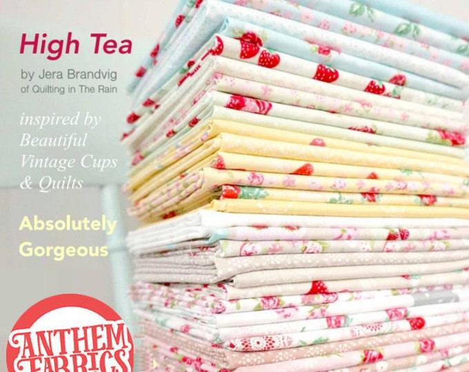 High Tea by Jera Brandvig for Lecien - 36 Fat quarters Fabric - L3034-05FQ