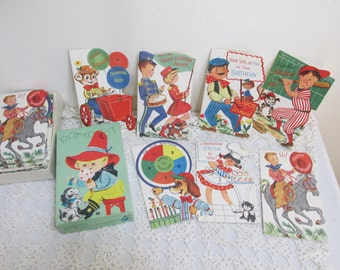 Birthday Card Children's Unused Boxed 21 Cards
