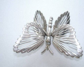 Sterling 925 Butterfly  Brooch