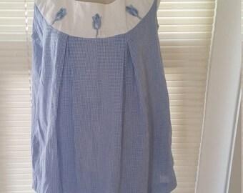 Vintage 1950s 50s maternity blouse and skirt set VLV