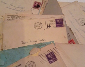 Instant Collection Ephemera 1930s Irene's Fascinating Junk Mail Instant Silly Collection Letters and Mail Schemes of Long Ago
