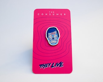 "1"" They Live - Consumer Pin"