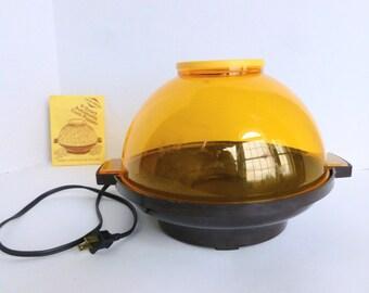 West Bend Buttermatic Butter Matic 4 Quart Automatic Popcorn Electric Corn Popper