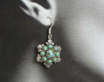 Indian-look summer earrings for sun dress, jeans, beach, Saturday at the antiques market and more