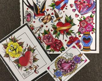 Love Print set