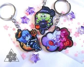 Halloween Steven Universe Keychains
