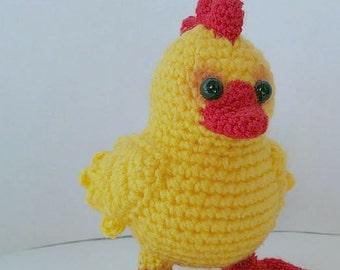 Spring Chicken – ToyMagic. Crochet Pattern PDF Instant Download Amigurumi