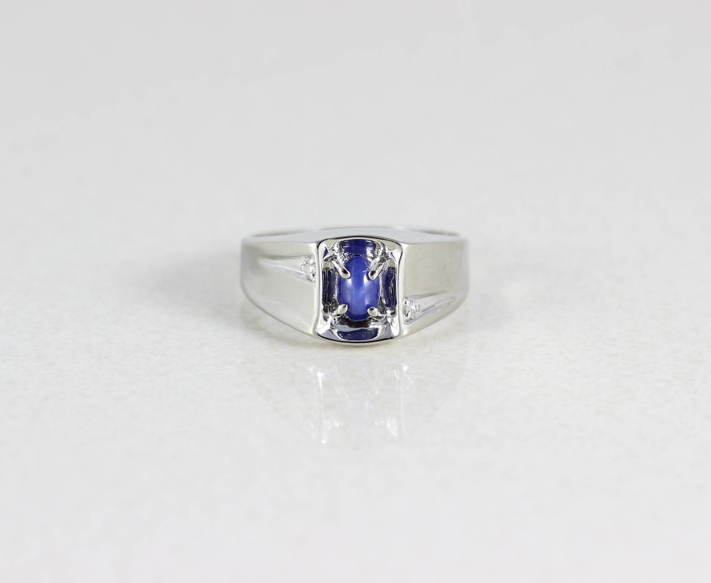 mens and s jewelers diamond sapphire antique dublin ring product dsc men