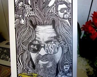 The Big Lebowski Poster by Posterography