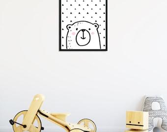 Bear Decor Print