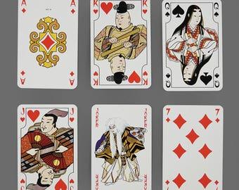 1980 Vintage Double Deck Japan Piatnik Playing Cards Bridge Rummy Vienna Austria