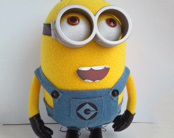 Plush Minion Dave 26cm. FREE SHIPPING. Decorate and personalize your car. Minion toy made in Ukraine