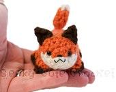 Fox Yama Amigurumi Crochet Stuffed Plush Desk Toy