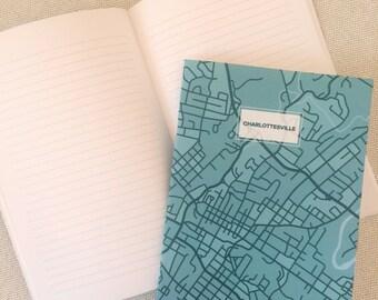 Charlottesville VA Map Notebook