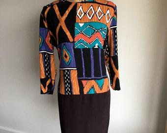 Vintage Artist Tunic/Dress/Abstract