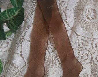 Salesman's Sample Nylon Stockings Hose Pantyhose Vintage at Quilted Nest