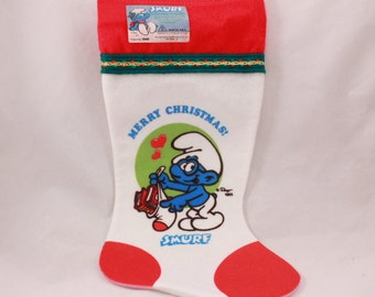 Have A Smurfy Christmas Stockings. Set of Two (2)