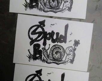 Spud Bugs Vinyl Stickers